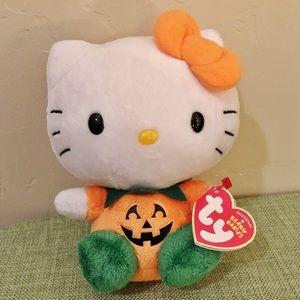 Hello Kitty Pumpkin Plush